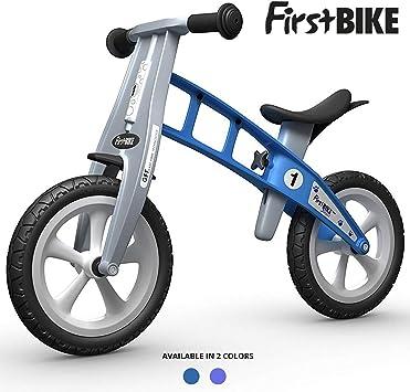 FirstBIKE - Bicicleta de Equilibrio sin Freno, Modelo básico, Color Azul (L1020PU): Amazon.es: Juguetes y juegos
