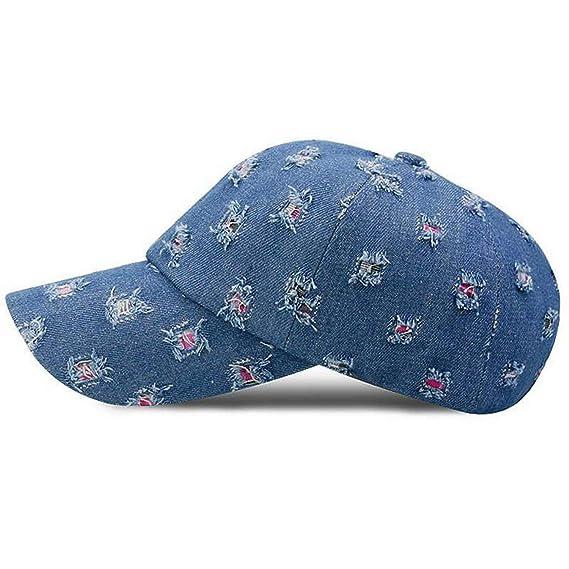 New arrivel Baseball caps for Men Women Cap Casual Hip hop Cap Sun Bone Outdoor Sports Casquette Gorras Unisex Blue at Amazon Womens Clothing store:
