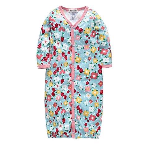 Bebé Saco de Dormir Niñas Recién nacido Vestido para dormir para Primavera y verano 1.5 Tog