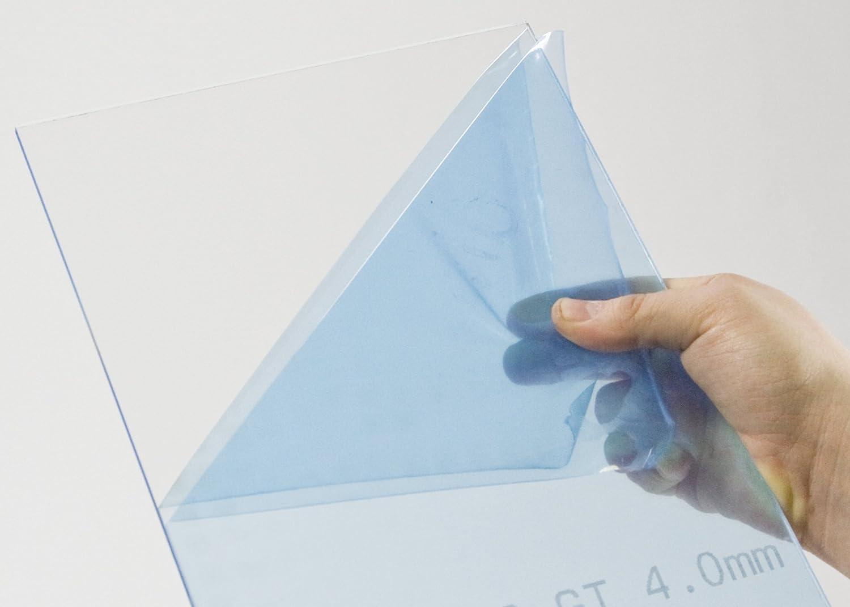 65 x 35 cm 3mm XT Acryl-Zuschnitt//Plexiglas-Platte transparent