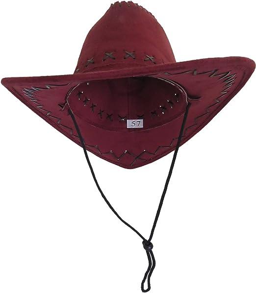 Sonia Origi Nelli cappello cappello da cowboy indiano Wild West Cowboy Hat  Fashing Carnevale USA M010 935a549ca723