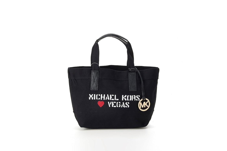 MICHAEL KORS マイケルコース バッグ アウトレット Vegas CITY TOTE レディース トートバッグ 35T7MT2T2R / 2color [並行輸入品] B077ZTMK1J ブラック ブラック