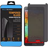 Alltech Devices, Made for Samsung Galaxy Note 3, Privacy Anti-Spy Tempered Glass Screen Protector Shield, Retail Box
