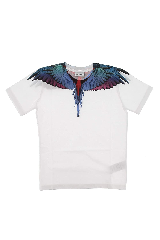 MARCELO BURLON KIDS OF MILAN T-Shirt Wings Colors Blanco P/E 2109 ...