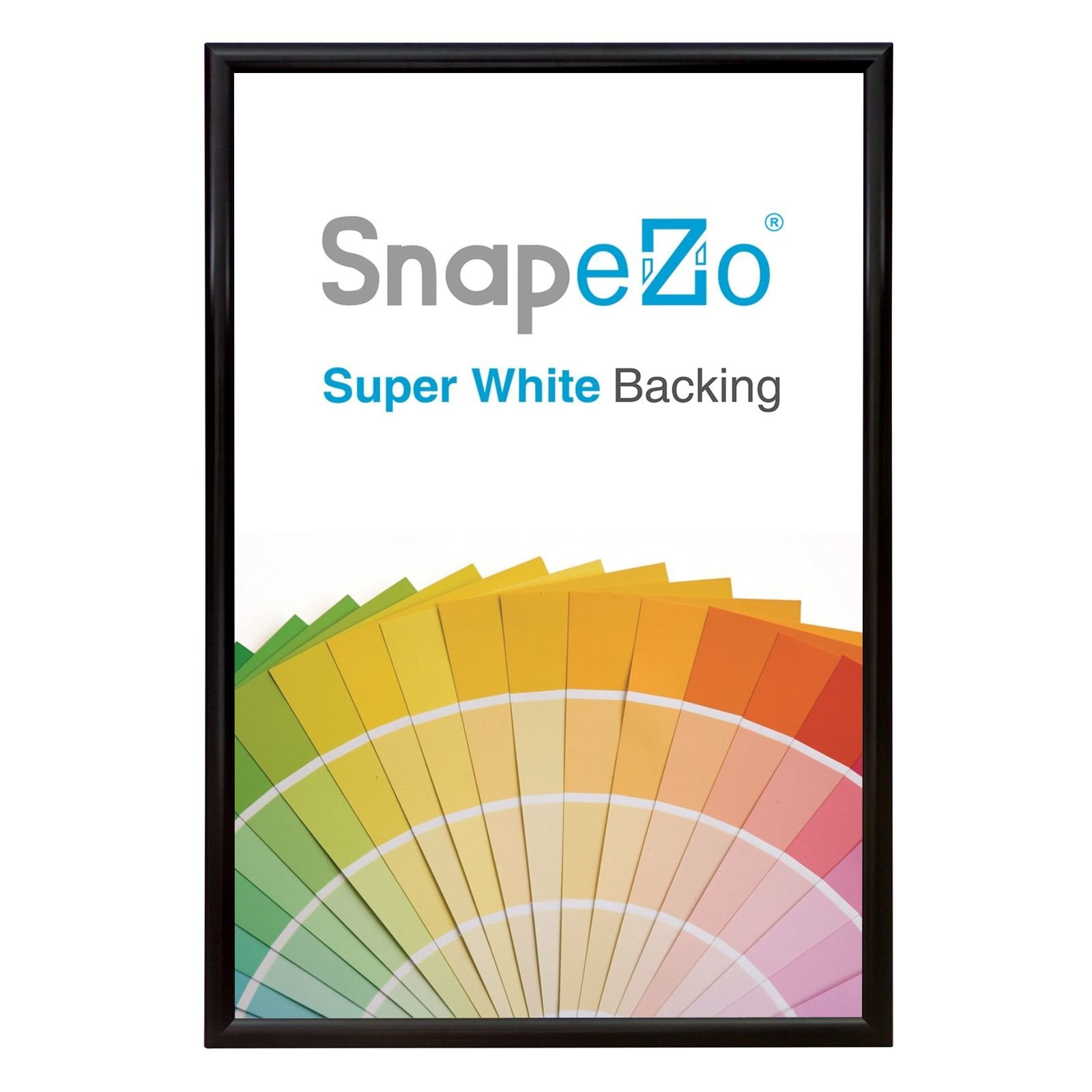 SnapeZo Poster Frame 17x23 Inches, Black 1.2\