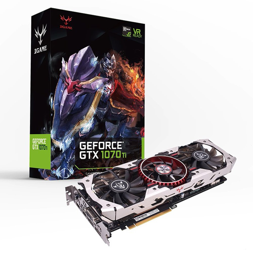 Colorful GeForce GTX 1070Ti Vulcan AD 8GB DDR5 GPU Tarjeta ...