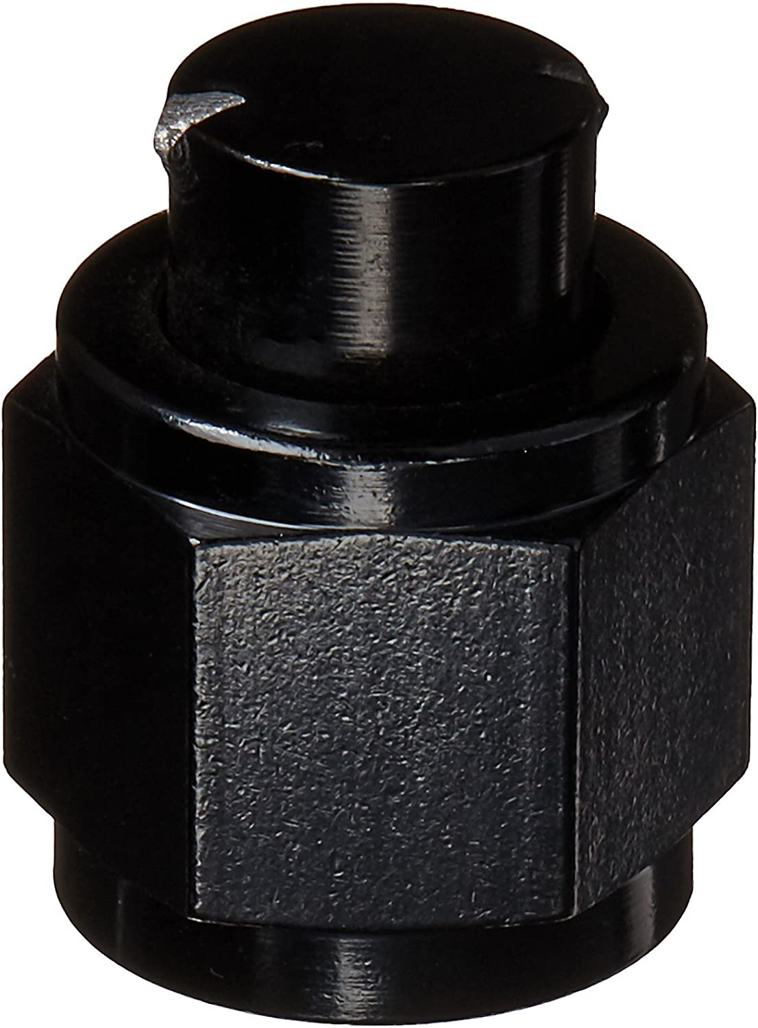 8AN Flare Cap Professional Products Black 16373