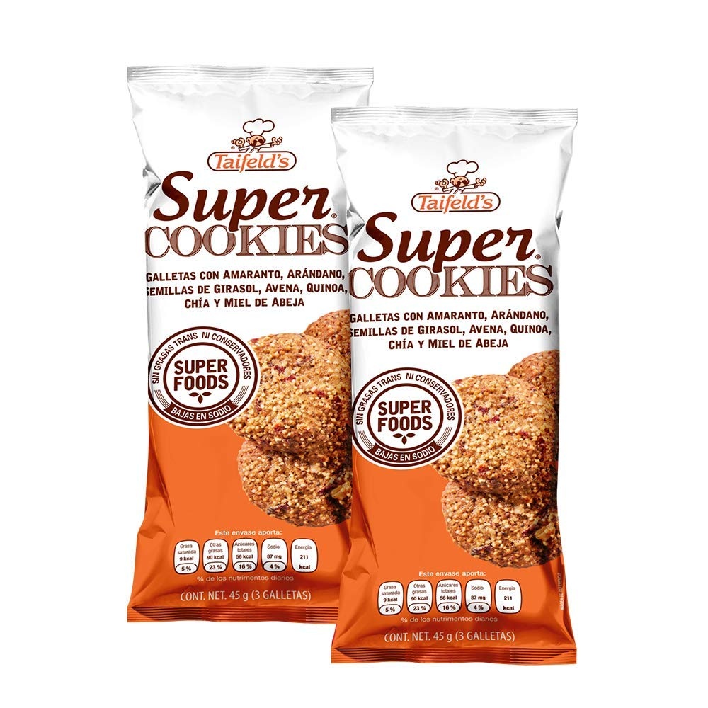 Super Cookies with Oats and Walnuts