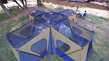 Huge Family XL C&ing Tent 14-Person 4 Rooms with Separate Doors. Waterproof Roomy : tent with separate rooms - memphite.com