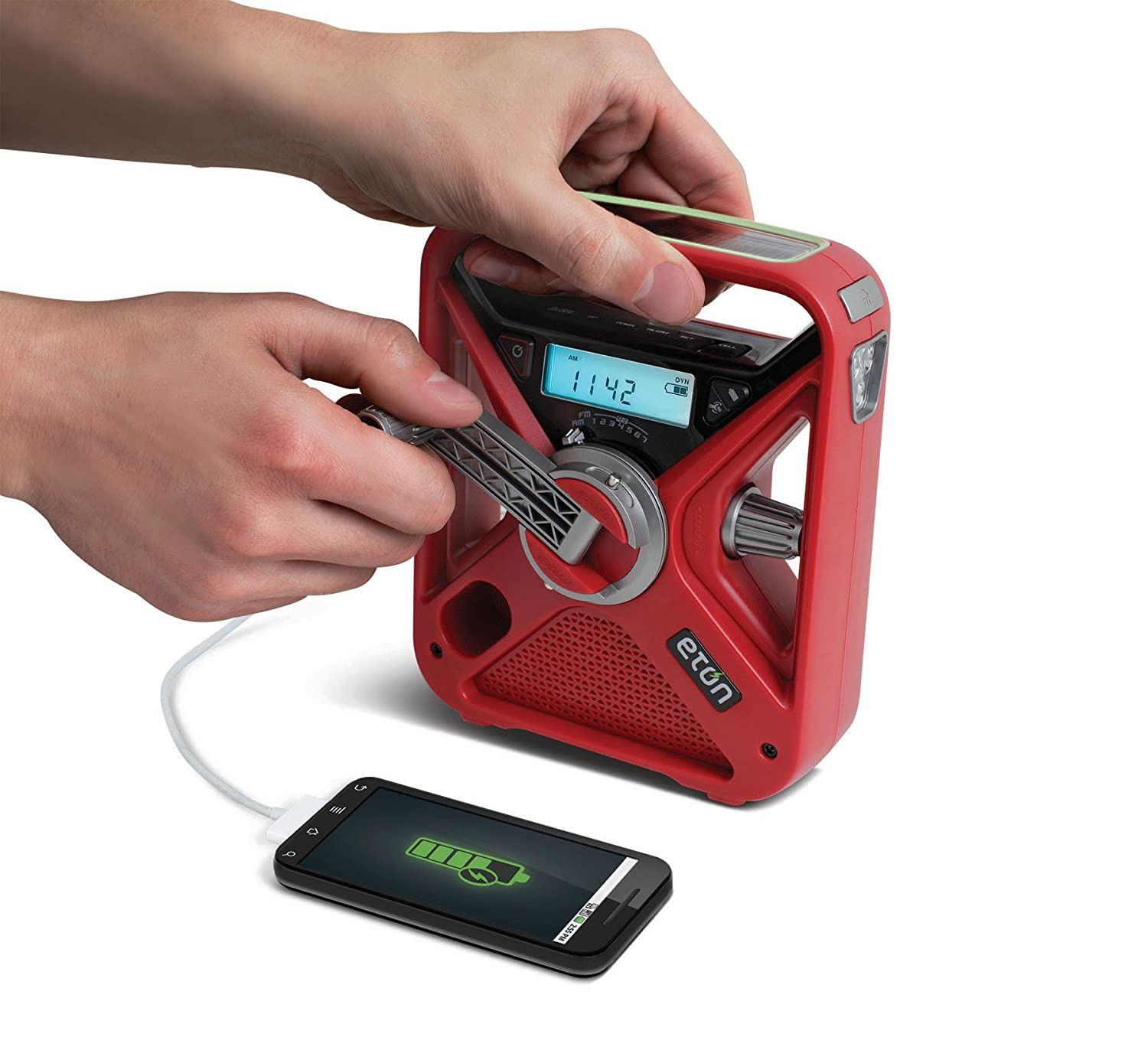 Hand Crank Smartphone Charger made our list of Tent Camping Terminology And RV Terms You Need To Know and the CampingForFoodies tent camping hacks campsite dwellers must be aware of for a great camp trip!