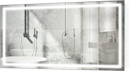 Amazon Com Krugg Large 66 Inch X 36 Inch Led Bathroom Mirror