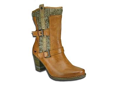 buy online 18bea 8e832 Mustang Stiefelette Damen Kurzschaft Stiefel