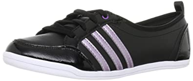 adidas Piona Sneaker Schuhe Damen Leder schwarz: