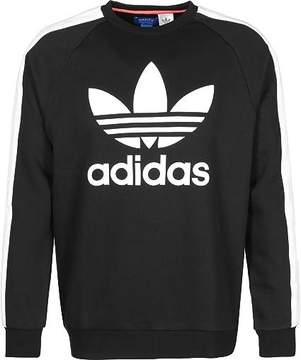 Adidas Berlin Crew Sudadera, Hombre, Negro, 2XL