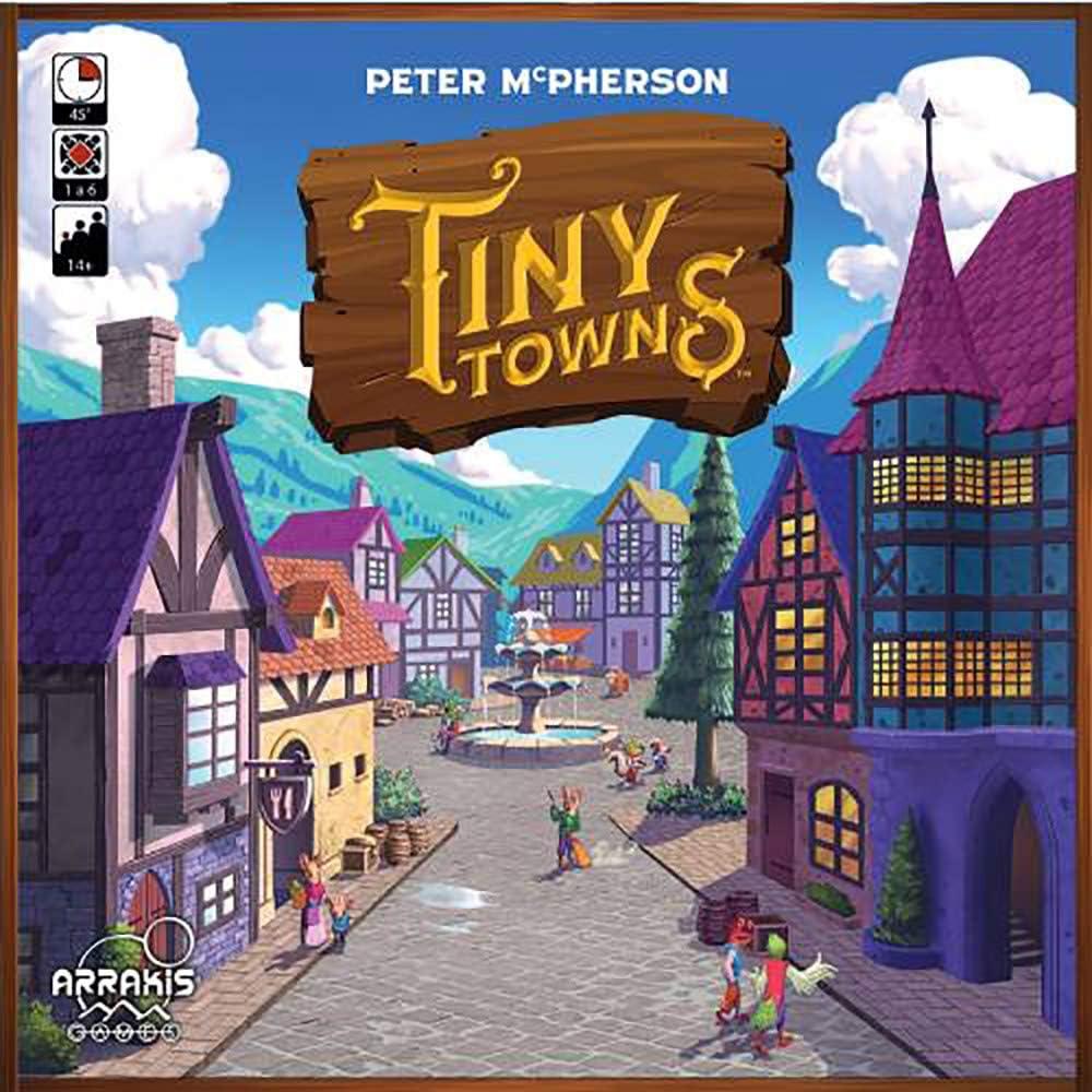 Arrakis Games Tiny Towns (Castellano): Amazon.es: Juguetes y juegos