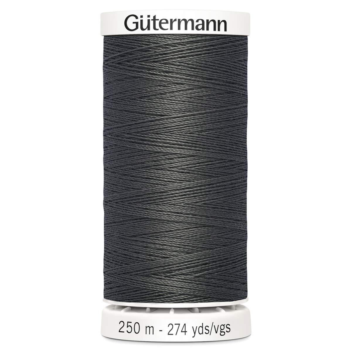 Gutermann Sew All Polyester Thread, 250Mtr, Smoke Grey (0702) GUT_717878_0702-1