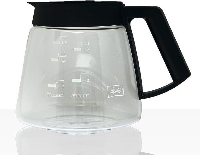Melitta – Jarra de cristal (1,8 litros KA de G M 180 para Gastro de filtro cafetera eléctrica M 170 MT: Amazon.es: Hogar