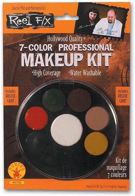 Maquillage Halloween 95.Amazon Com 7 Color Professional Makeup Kit Reel F X Halloween Costume Makeup Toys Games