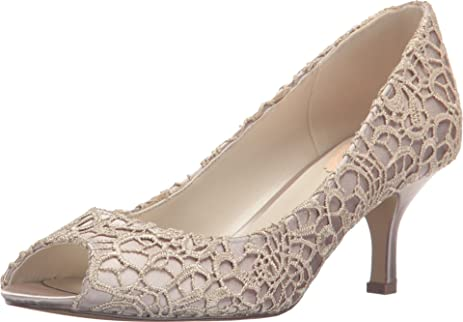 Sale Looking For Pink Paradox London Emotion Peep Toe Pump(Women's) -Navy Lace/Satin Cheap Sale Reliable Clearance Websites Free Shipping Pay With Paypal nVMiYP54
