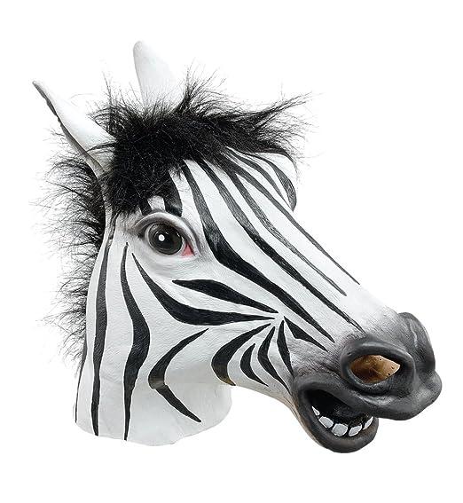 13 opinioni per Maschera da zebra in gomma