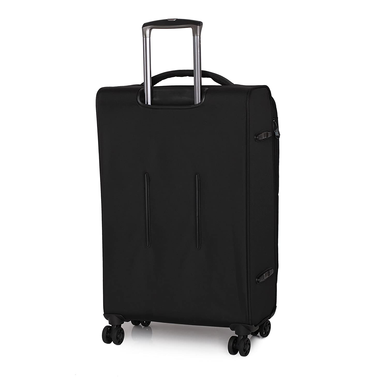 Black IT Luggage Parent Code 12-185708-UEB3N-S001 it luggage Megalite-Vitality-8 Wheel Semi Expander Lightweight 3 Piece Set