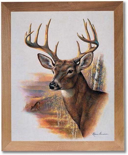 16x20 Whitetail Buck Deer Big Antler Rack Mountain Wildlife Animal Art Print