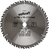 Wolfcraft 6735000 Lame scie circulaire CT 30 Dts Diamètre 190 x 16 mm