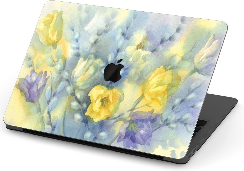 Floral Print 13 Inch MacBook Air Case 15 Inch 11 Inch MacBook Case 12 Inch Clear Orange Leaves 13 Inch 16 Inch MacBook Pro 2020
