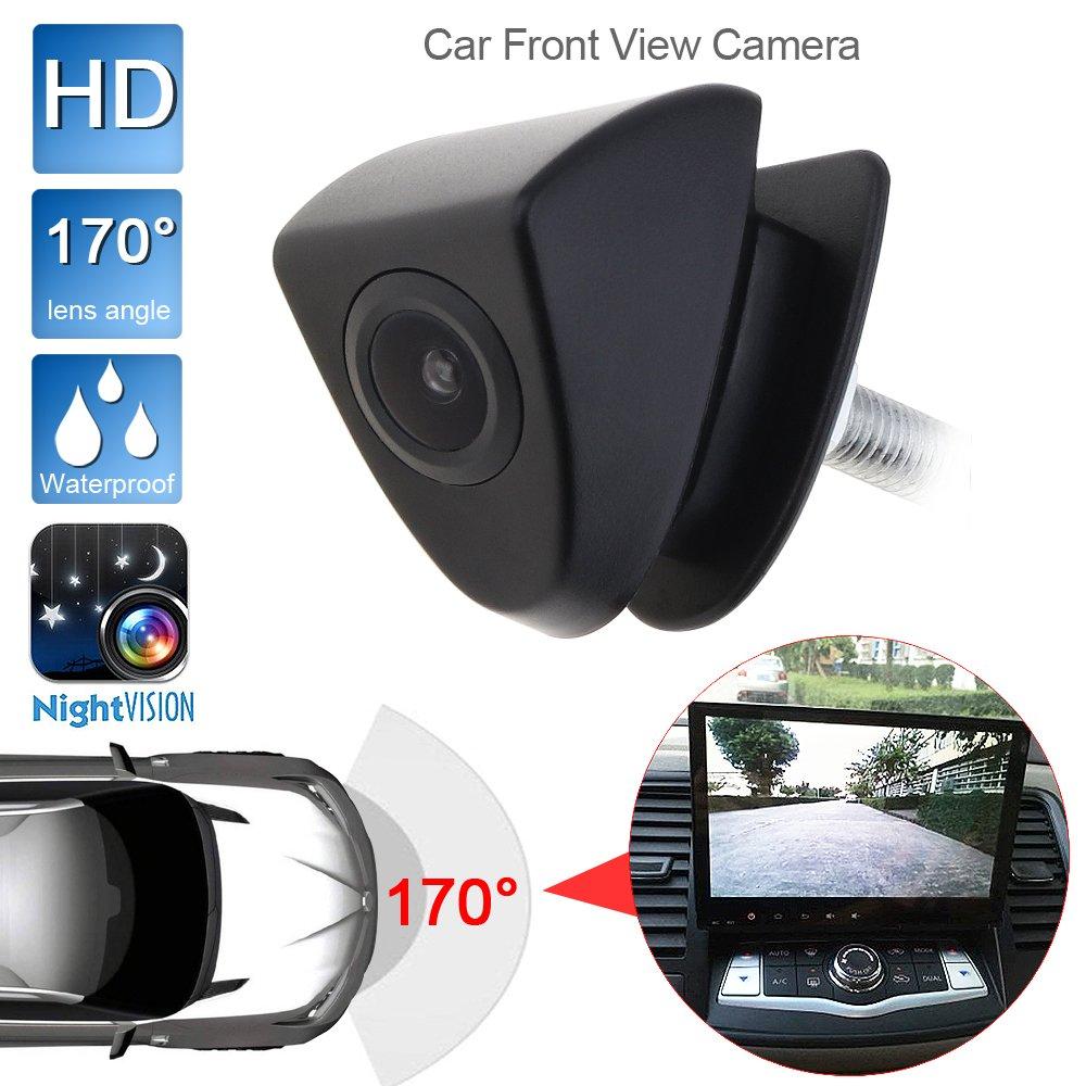 HD Car Front View camera Night Vision 170 Wide gradi logo integrato per Toyota 420 TVL ePathChina®