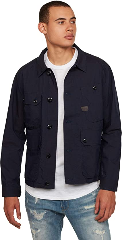 [G-Star RAW ジースターロゥ] シャツジャケット オーバーシャツ フィールドジャケット メンズ Field Indoor Jacket