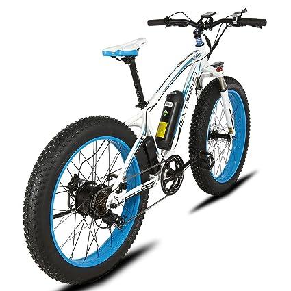 Bicicleta eléctrica de montaña y nieve de Extrbici, 1000 W XF660 48 V 16 AH batería ...