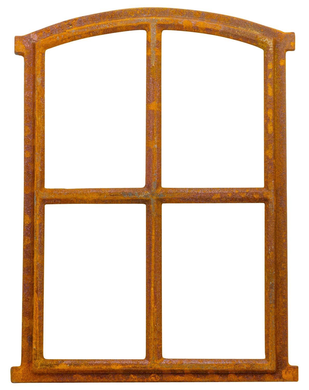 Fenster Rost Stallfenster Eisenfenster Scheunenfenster Eisen 75cm Antik-Stil a3