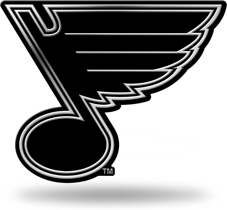 Rico Industries NHL St Louis Blues Chrome Finished Auto Emblem 3D Sticker