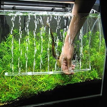 Geetobby - Bomba de aire para acuario con bomba de oxígeno para acuario, decoraciones para peceras, ...