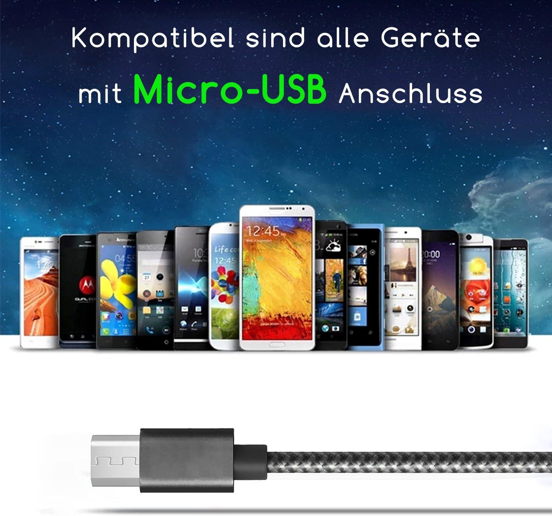 Coverlounge Ladegerät Mit Micro Usb Kabel 3m Elektronik