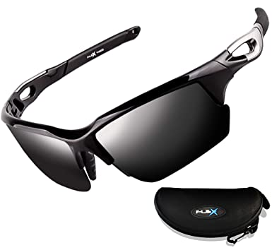 ee86f453bb Amazon.com  FLEX v2 – Polarized Sports Sunglasses for Men or Women ...