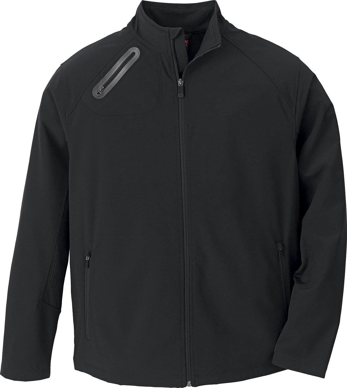 Black // Black North End Mens 3-Layer Softshell Jacket Medium 88621