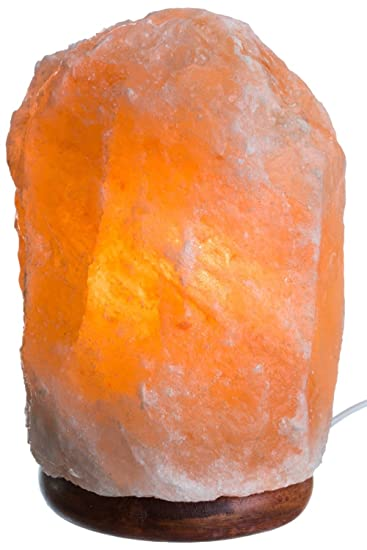 Amazon.com: HemingWeigh Natural Himalayan Rock Salt Lamp 7-13 Lbs ...