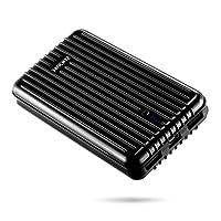 Zendure A5 Batterie Externe 16750mAh Chargeur Portable 2 Ports USB (5V/2.1A Max) Batterie de Secours Power Bank pour iPad, iPhone, Samsung, Huawei, Smartphone, Android, Tablette (Noir)