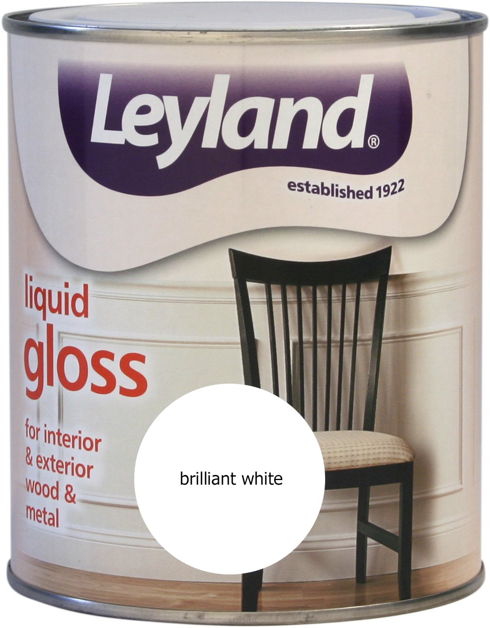 Leyland 303649 Non Drip Gloss, Cream Fudge, 750 ml