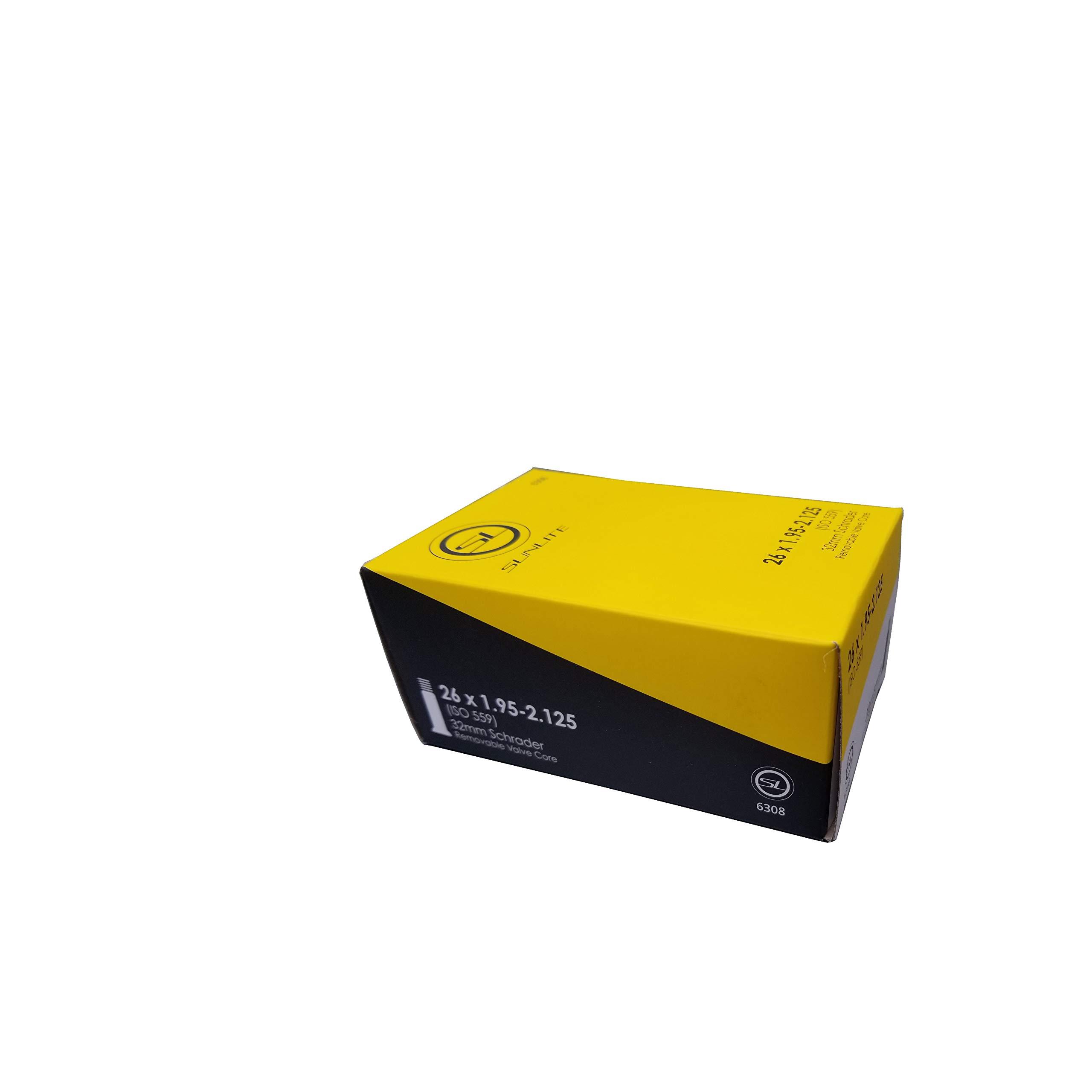 Street Fit 360 Tube, 26 x 1.95-2.125 32mm Schrader Valve by Street Fit 360