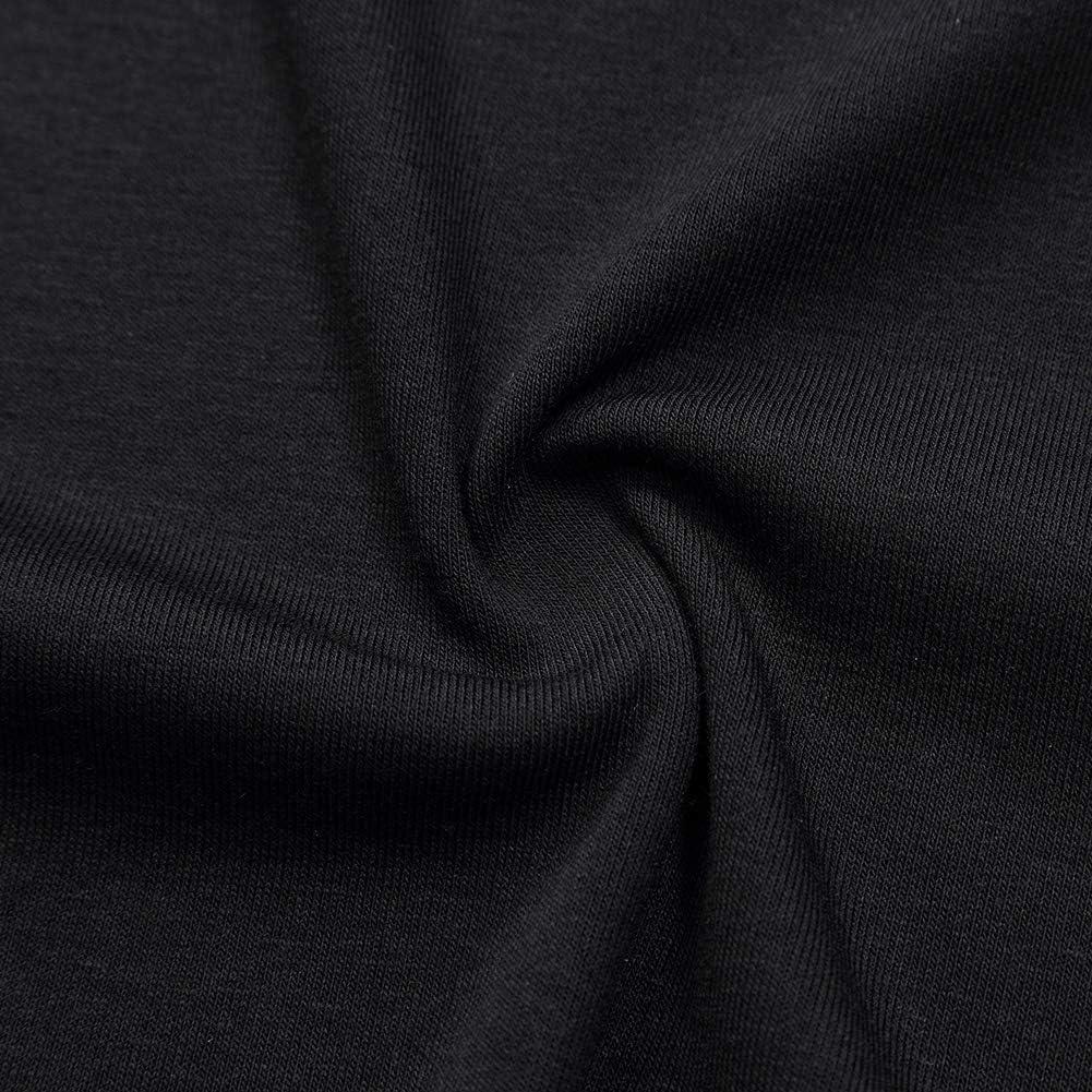 KOJOOIN Camisa Larga Casual asim/étrica de Talla Grande para Mujer Tops de Gran tama/ño Modal
