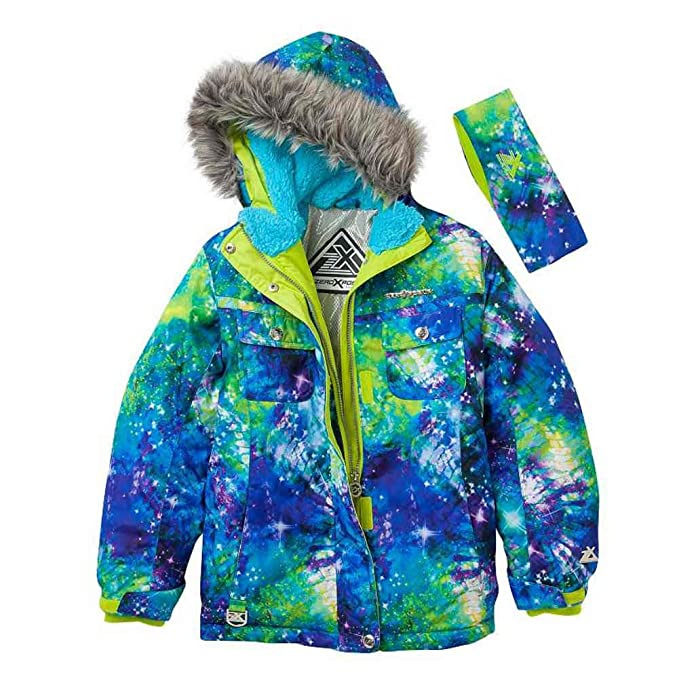 Amazon.com: zero xposur las niñas verde, azul cósmico Escudo ...