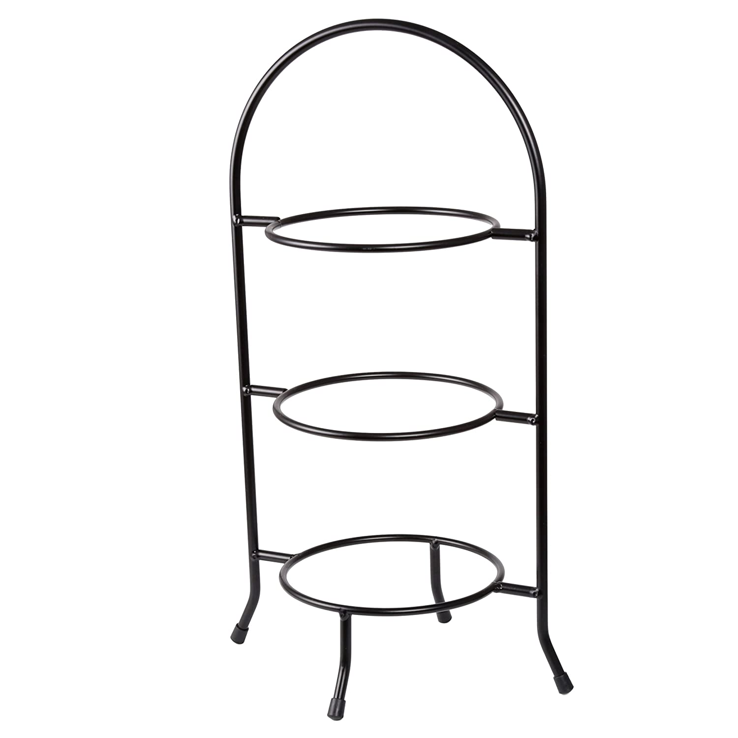 Creative Home 73044 3-Tier Dessert Plate Rack, 18.5-Inch H Evco International