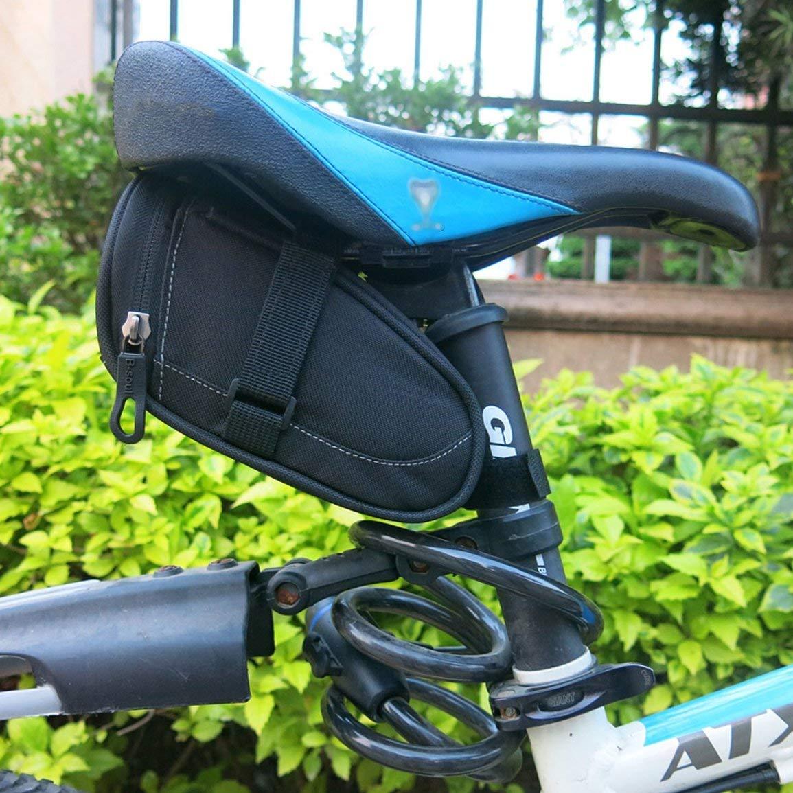 Fantasyworld Tail B-Alma Impermeable Asiento de la Bicicleta Bolsa de sill/ín de la Bicicleta de Ciclo de la Bolsa alforjas Posterior Ciclismo peque/ña Bolsa de Ciclismo Accesorios