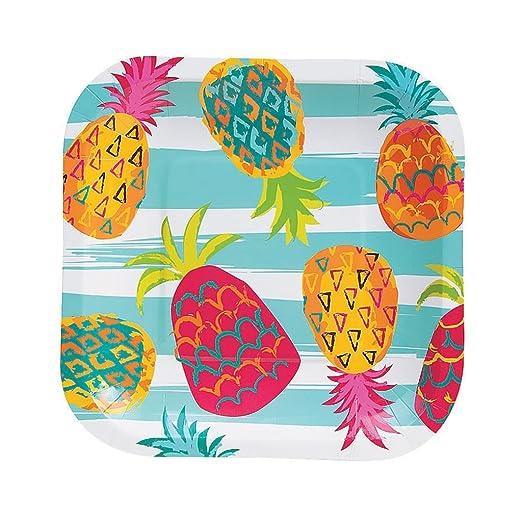Elfen und Zwerge 8 x Platos Verano Fiesta Piña Hawaii Beach ...