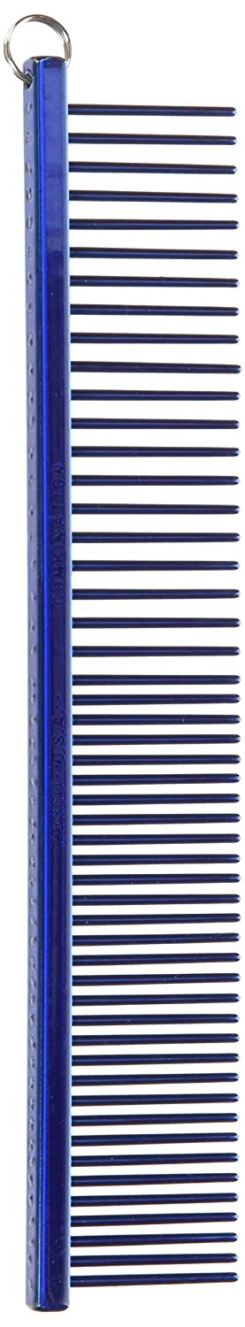 Electric bluee All Electric bluee All Resco Professional Anti-Static Combination Comb, Medium Coarse Tooth Spacing, 1-Inch Pin Length, Candy bluee
