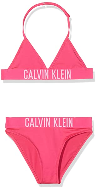 Calvin SetConjunto Bikini Triangle De Klein Baño NiñasRosapink Rj5A34Lq