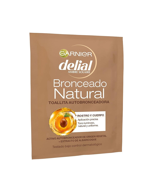 Garnier Delial Ambre Solaire - Toallita autobronceadora - Rostro y cuerpo bronceado natural - 5.6 ml L' Oreal S0544674