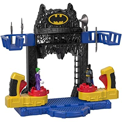 Fisher-Price Imaginext DC Super Friends, Battle Batcave: Toys & Games
